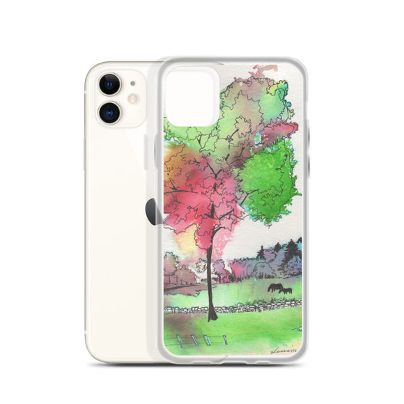Peaceful Pastures iPhone Case