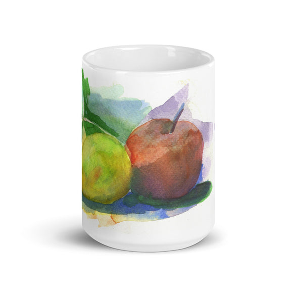 We're a perfect pair/ Pear N Apple Mug