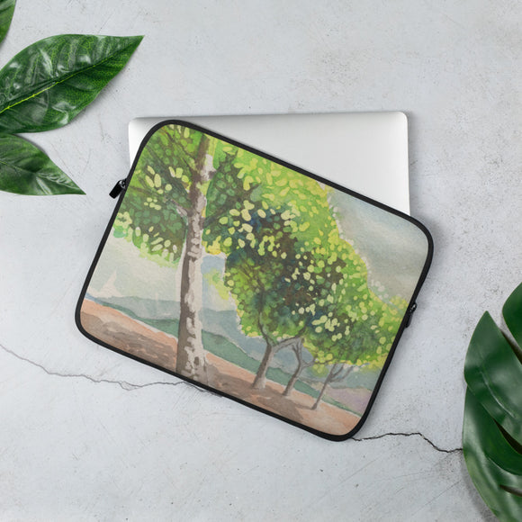Sparkly Trees Laptop Sleeve