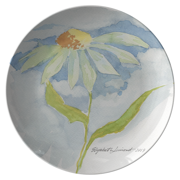 Single Daisy Dinner Plate