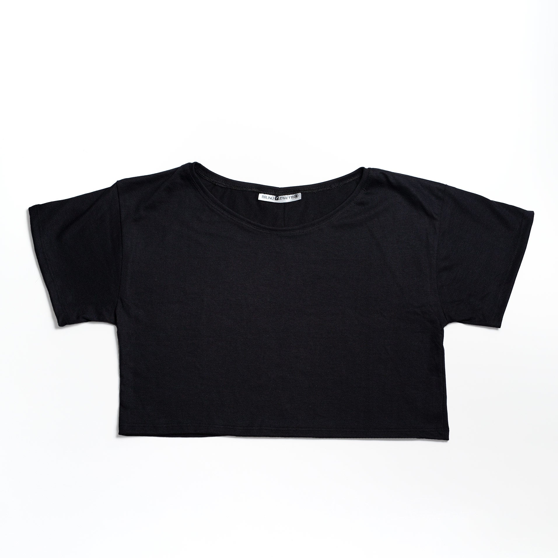 Polera Crop Top Oversized