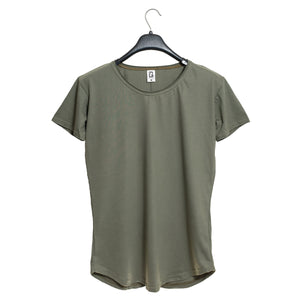 Polera Long Fit Cuello Reventado