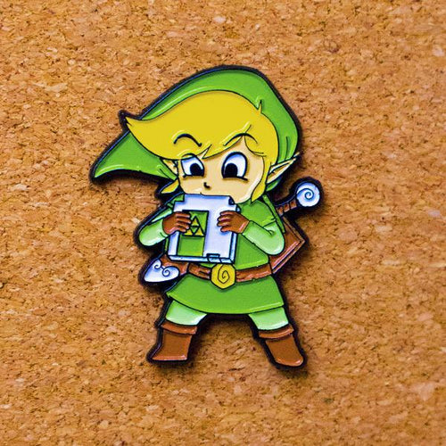 Cartridge of Time Enamel Pin - Naolito
