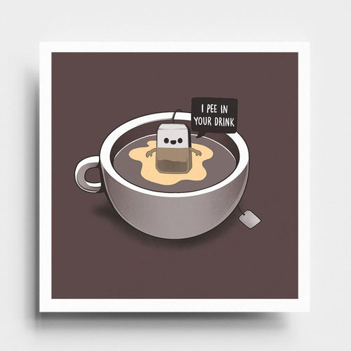 Tea Pee - Art Print - Naolito