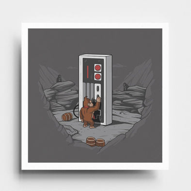 Dawn of Gaming - Art Print - Naolito