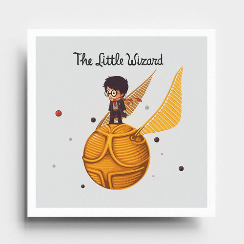 The Little Wizard - Art Print - Naolito