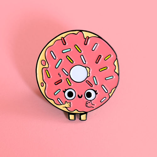 After Makeup Donut - Enamel Pin - Naolito