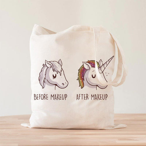 Before After Makeup Premium - Tote Bag - Naolito