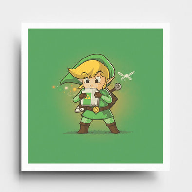 Cartridge of Time - Art Print - Naolito