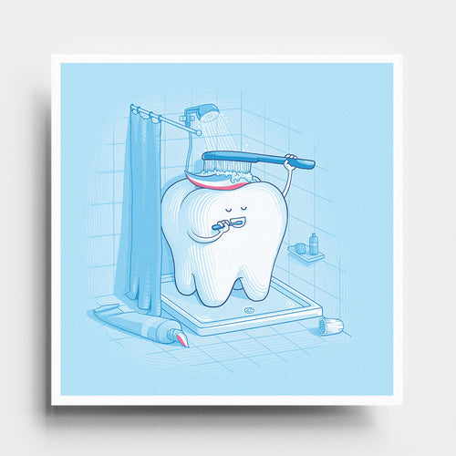 Dental Hygiene - Art Print - Naolito