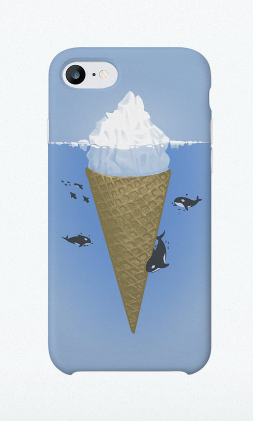 Hidden Part of Icebergs - Phone Case - Naolito