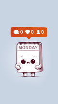 Everybody Hates Monday - Phone Case