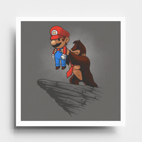 Gaming King - Art Print - Naolito