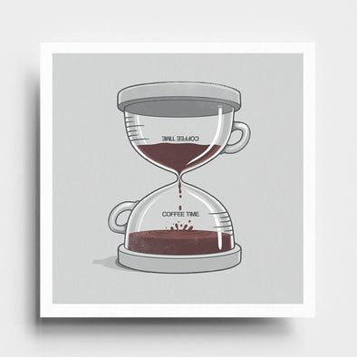 Coffee Time - Art Print - Naolito
