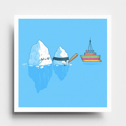 Iceberg Traditions  - Art Print - Naolito