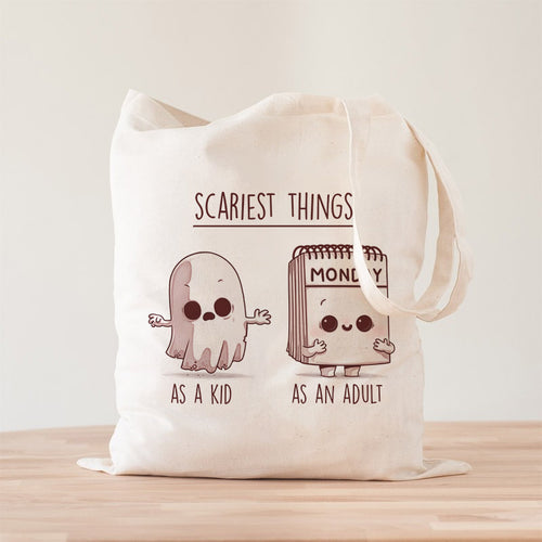 Scary Monday Premium- Tote Bag - Naolito