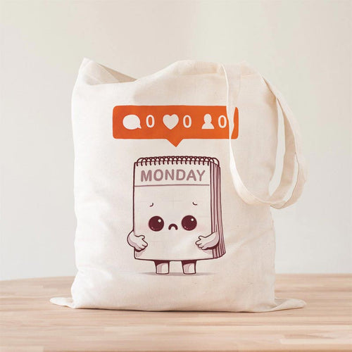 Everybody Hates Monday Premium - Tote Bag - Naolito