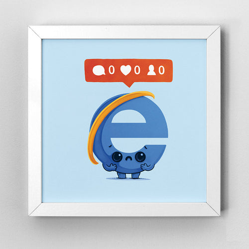 Nobody Loves Explorer - Art Print - Naolito