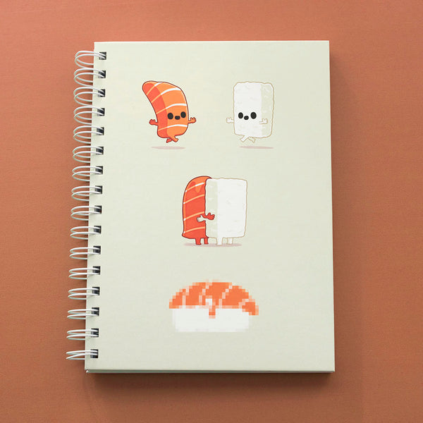 Sushi is Love - Notebook - Naolito