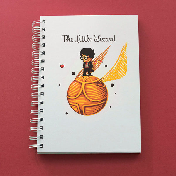 The Little Wizard - A5 Notebook - Naolito