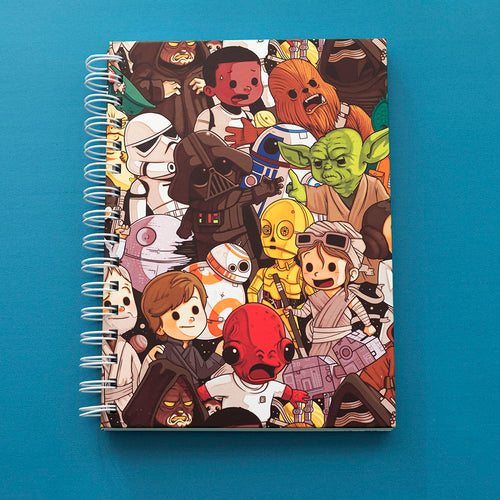 Star Wars Pattern - A5 Notebook - Naolito