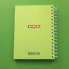 NOBODY LOVES ME - A5 Notebook - Naolito