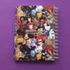 VILLAINS PATTERN - A5 Notebook - Naolito