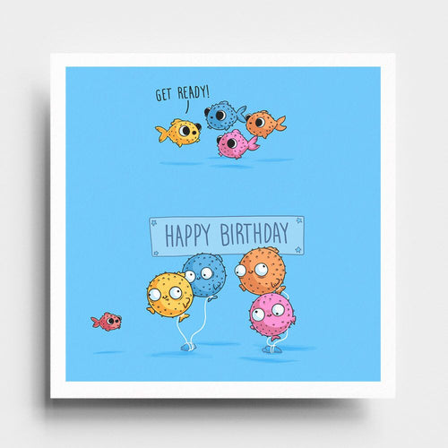 Happy Birthday - Art Print - Naolito