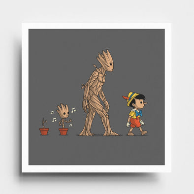Galactic Evolution - Art Print - Naolito