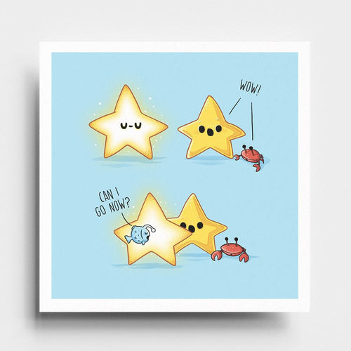 Shinny Star- Art Print