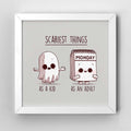 Scary Monday - Art Print - Naolito