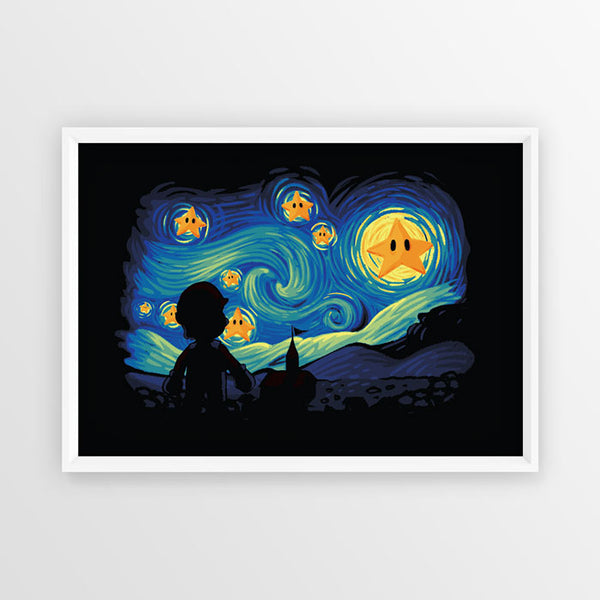 Super Starry Night - Poster - Naolito