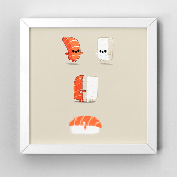 Sushi Is Love - Art Print