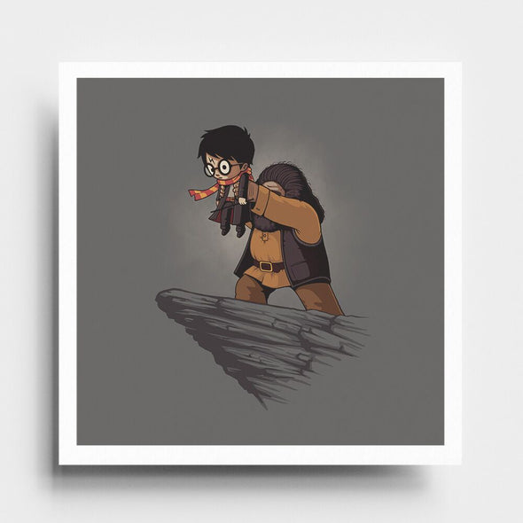 Magic King - Art Print - Naolito