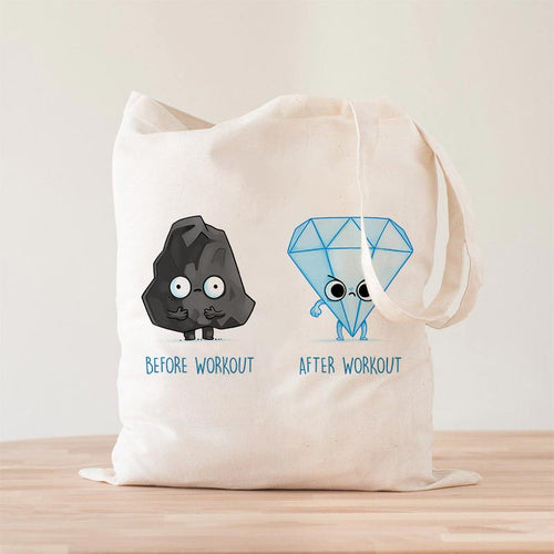 Before and After Workout Premium - Tote Bag - Naolito