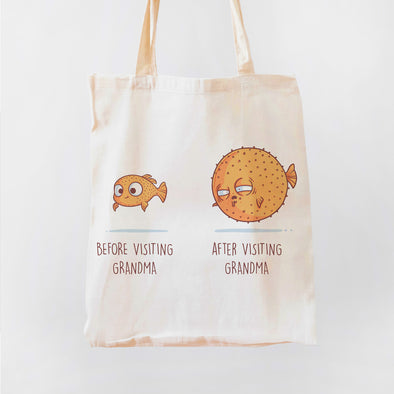 Before After Grandma Premium - Tote Bag