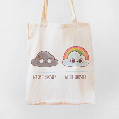 Before After Shower Premium - Tote Bag