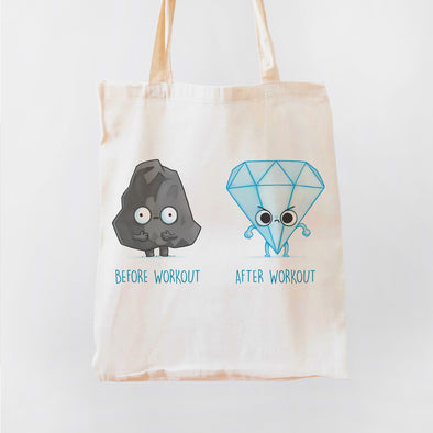 Before and After Workout Premium - Tote Bag