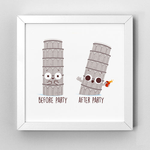 Before After Party- Art Print - Naolito
