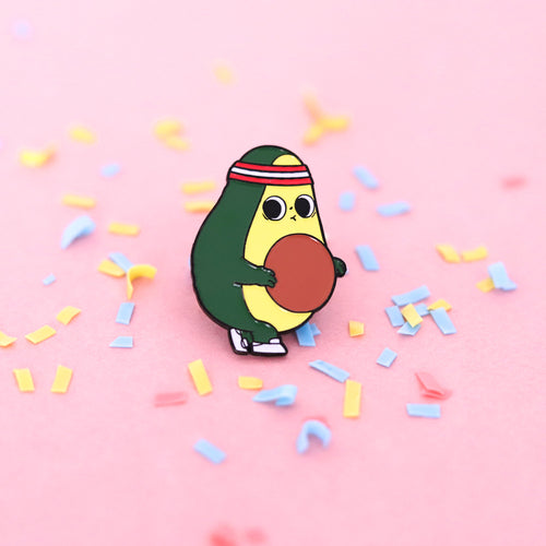 Before First Gym Day - Enamel Pin - Naolito