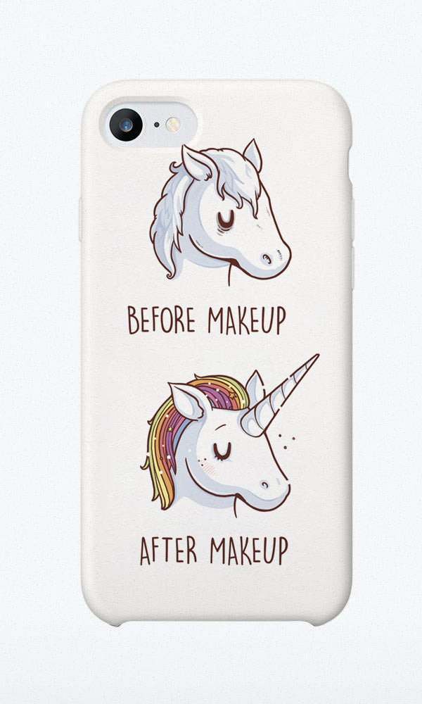 Before/after Makeup - Phone Case - Naolito