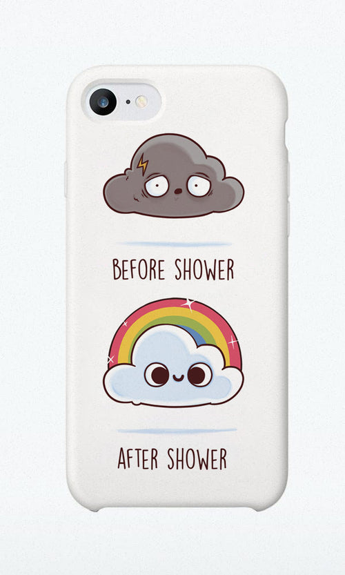 Before After Shower - Phone Case - Naolito