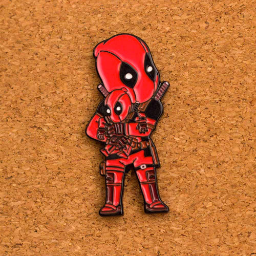 Deadpool Enamel Pin - Naolito
