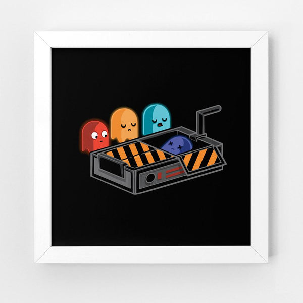 Ghostbusted - Art Print