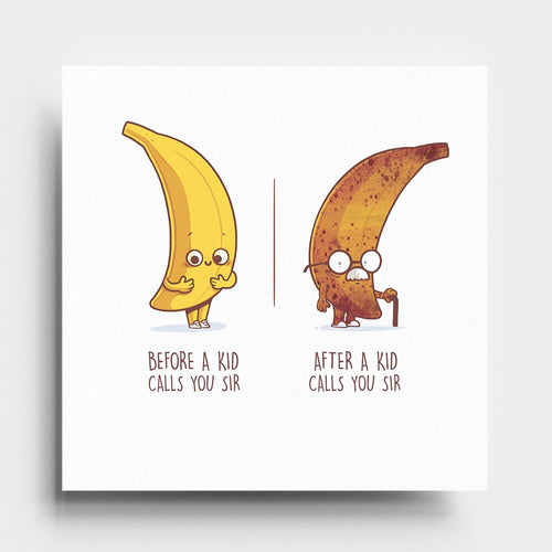 Before After Sir - Art Print - Naolito