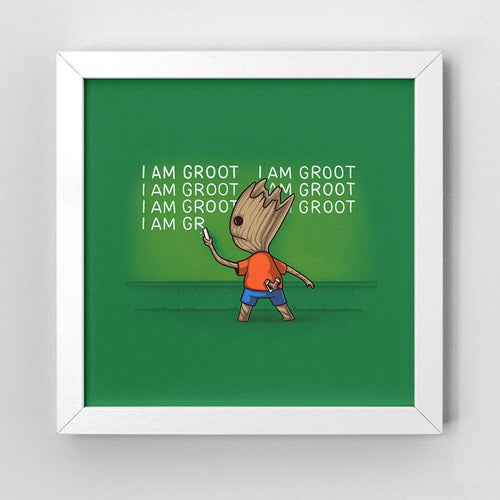 Groots Detention - Art Print - Naolito