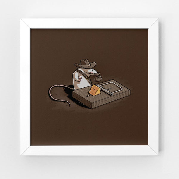 Indiana Mouse - Art Print