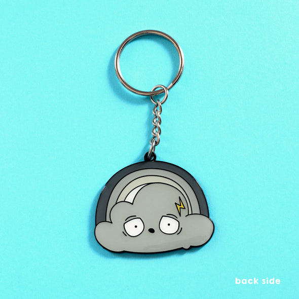 Before After Shower - Double-Sided Enamel Keychain - Naolito