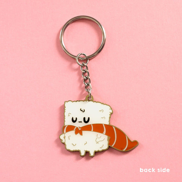 Sushi Hero - Double-sided Enamel Keychain - Naolito