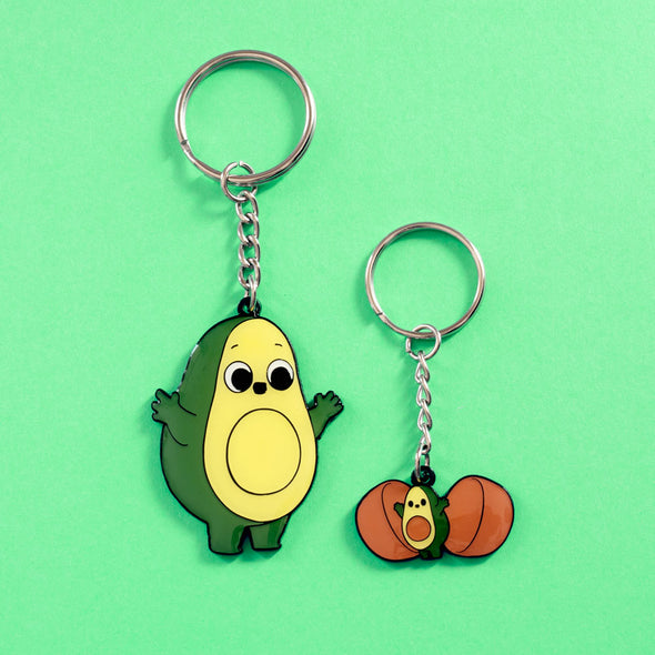 Kindest Surprise - Double-sided Keychain Enamel set - Naolito